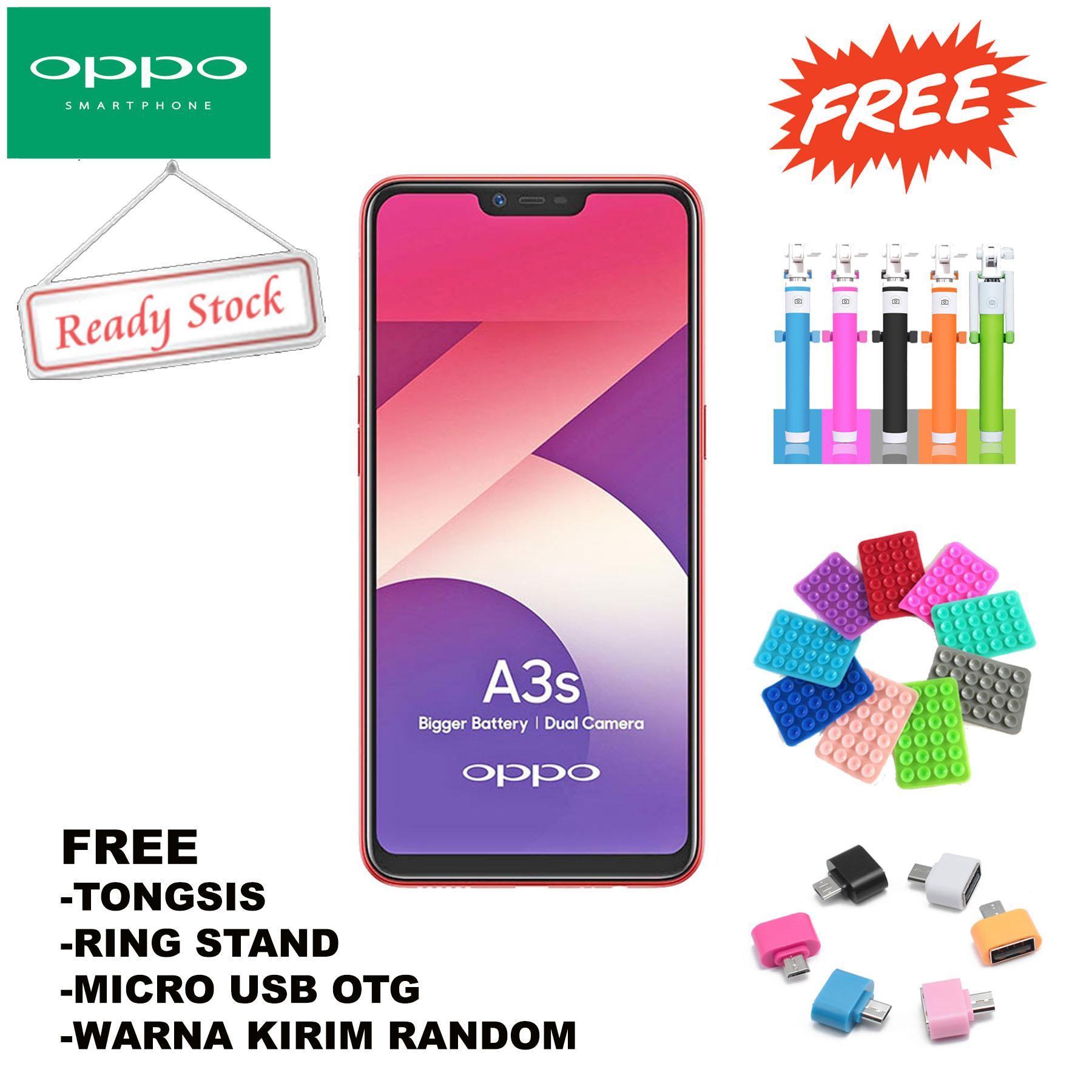 OPPO A3S Smartphone 3GB/32GB - Dual Camera- Garansi Resmi