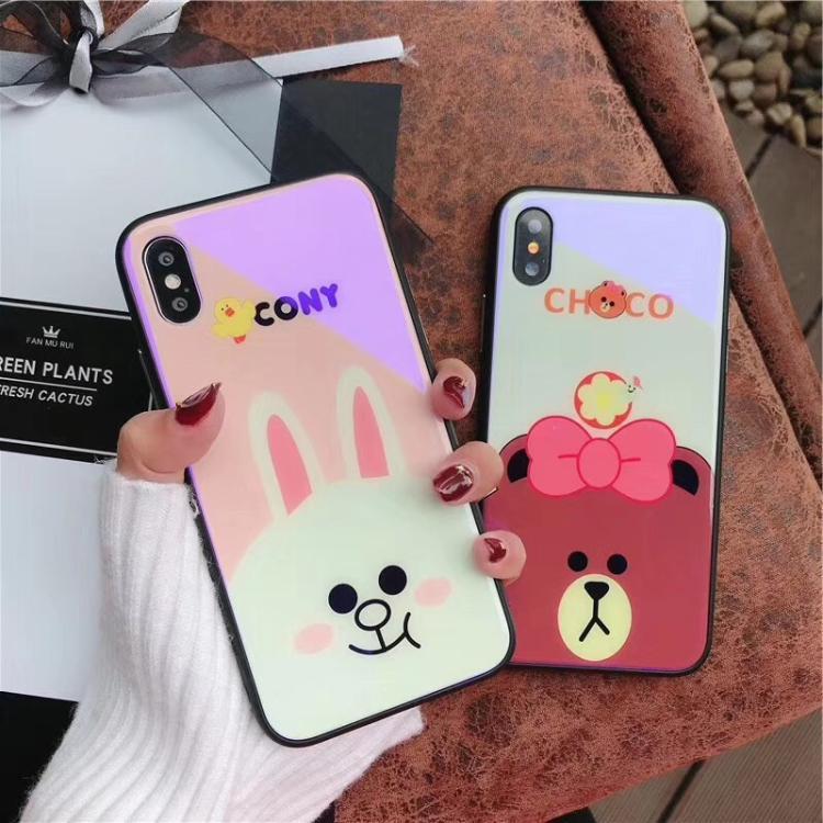 Di Selubung Lunak Imut Beruang Kecil Selubung iPhone Handphone