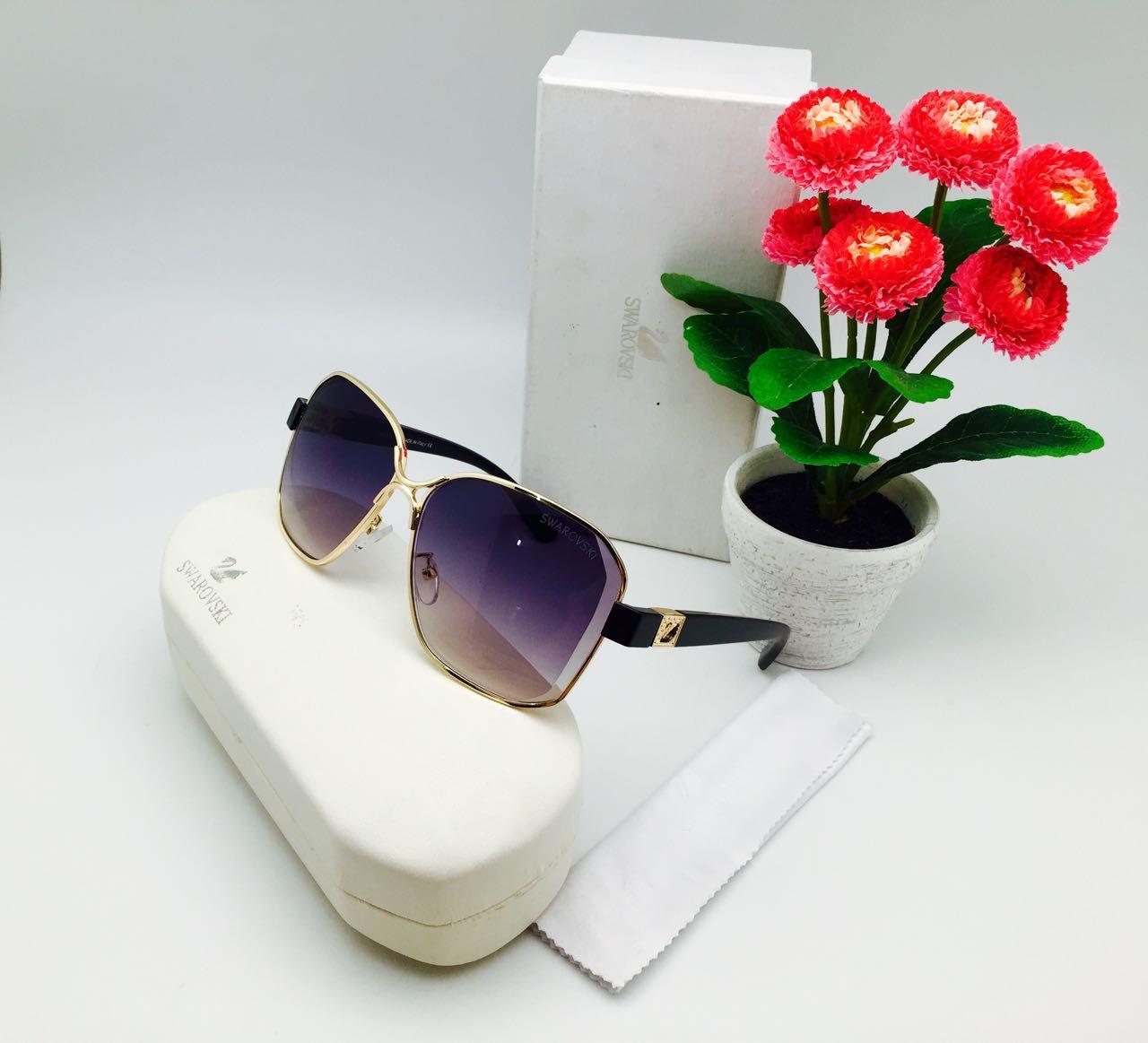 ... Kacamata Wanita Sunglass Swaroski 26068 Fullset S5705