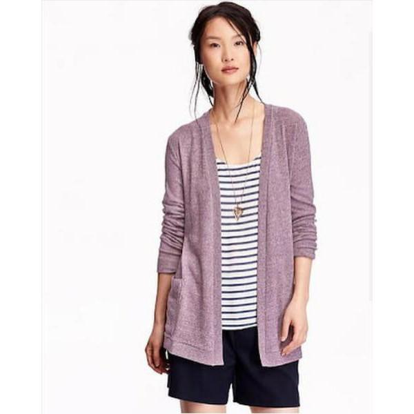 Hanya Hari Ini Baju Fashion Wantia - Original OLD NAVY Open Front Cardigan Cepat Beli