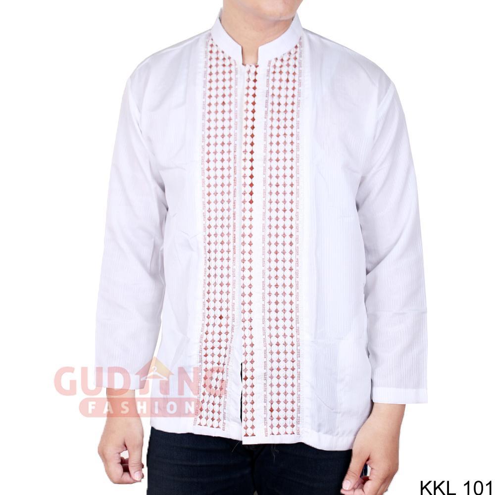 Toko Indonesia Best Buy Baju Muslim Dipakai Ada 11 18 Koko Pria Lengan Panjang Katun Biru Dongker Kkl 04 Gudang Fashion Kemeja Putih