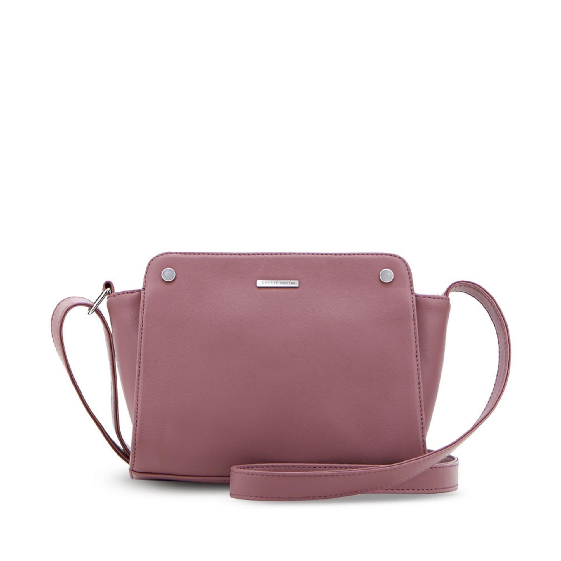 Sophie Paris Tas Selempang Wanita Import Branded Liana Bag T4482D1 - Dusty  Pink e64786eb4f