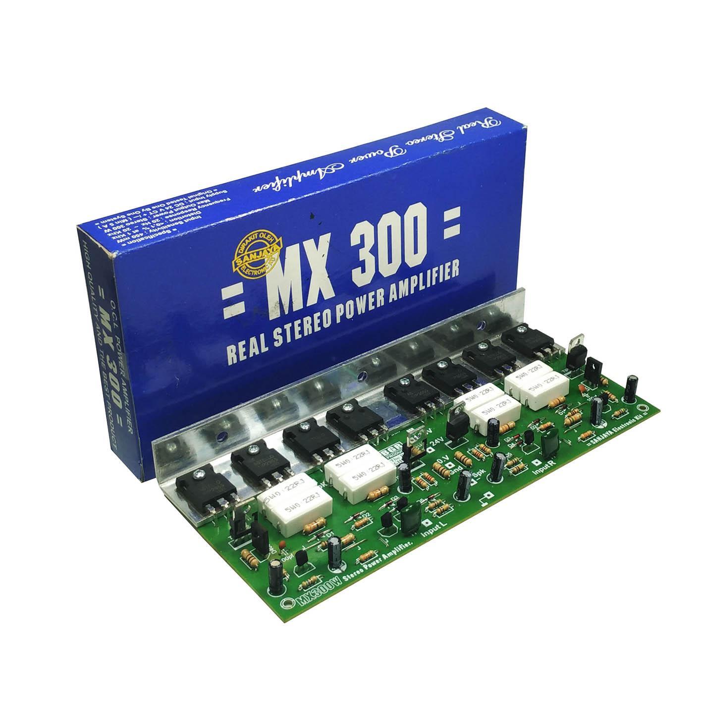 Kit Power Amplifier Mono Bell MX 300