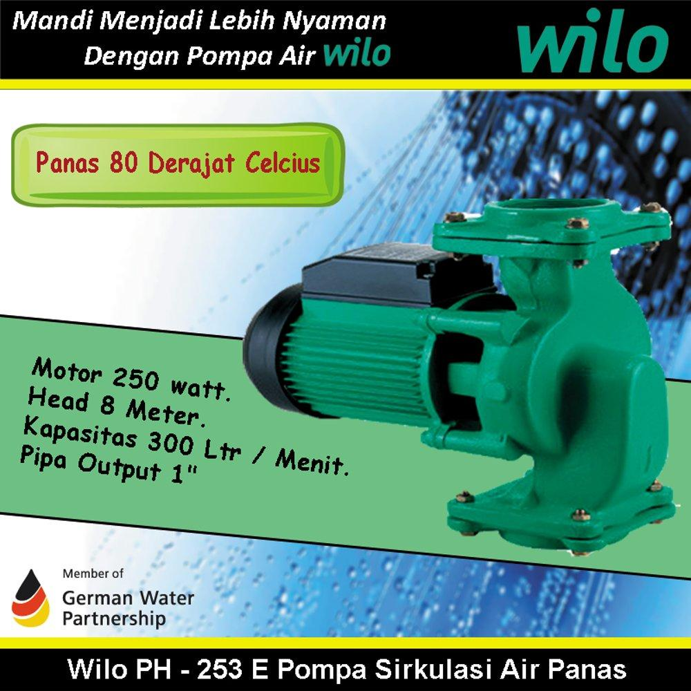 Buy Sell Cheapest Wilo Pompa Air Best Quality Product Deals Mhi 203e Multistage Stainless Steel Water Pump Ph 253 E Sirkulasi Panas