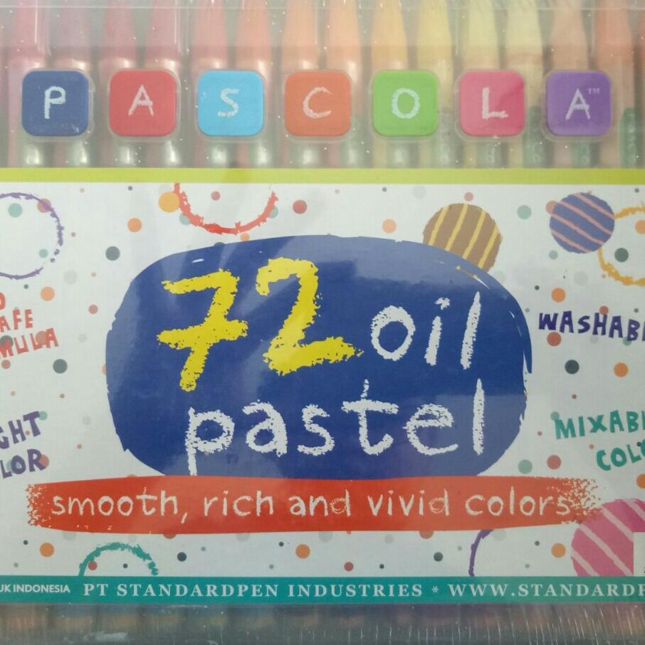 Crayon 72 Warna Pascola By Atk Jaya Store.