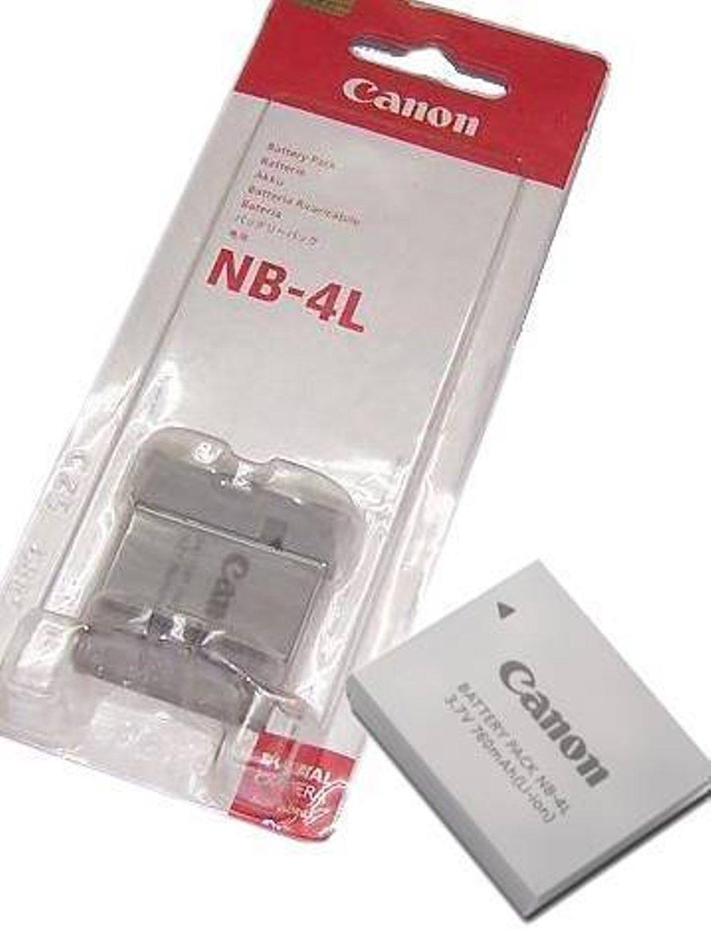 Baterai Canon Nb-4l Untuk tipe Digital 50/40/Digital IXUS PowerShot SD200/SD300/IXUS 120/130