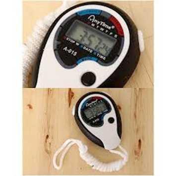 Gogo Jam Tangan Kalkulator Hitam Daftar Harga Terbaru dan Source · Anytime 6192 XL019 Water Stopwatch