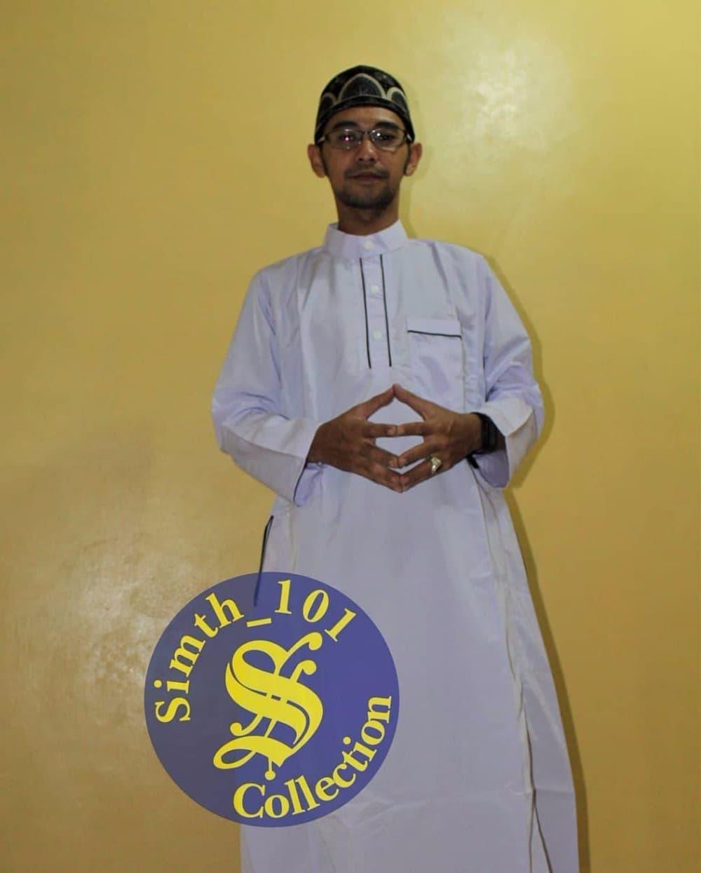 NEW Baju Kekinian muslim koko Gamis Jubah Arab Pria laki Dewasa pakai