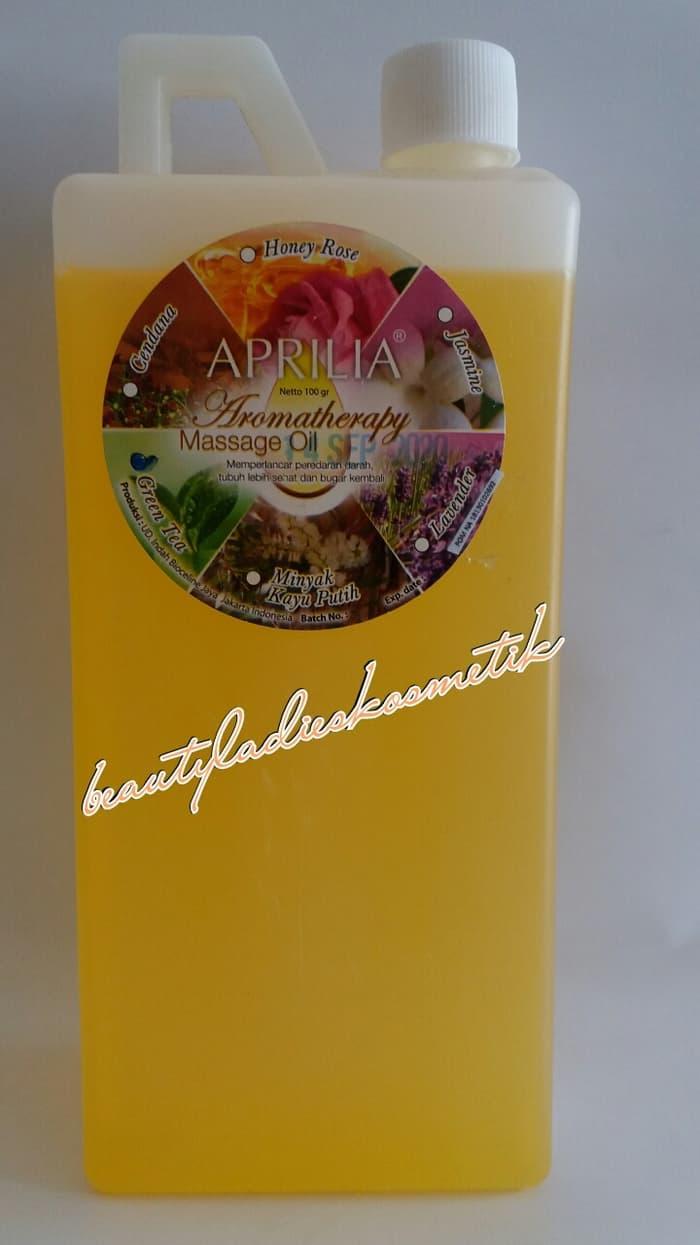 Aprilia Massage Oil Aromatherapy (GREEN TEA) 1 L