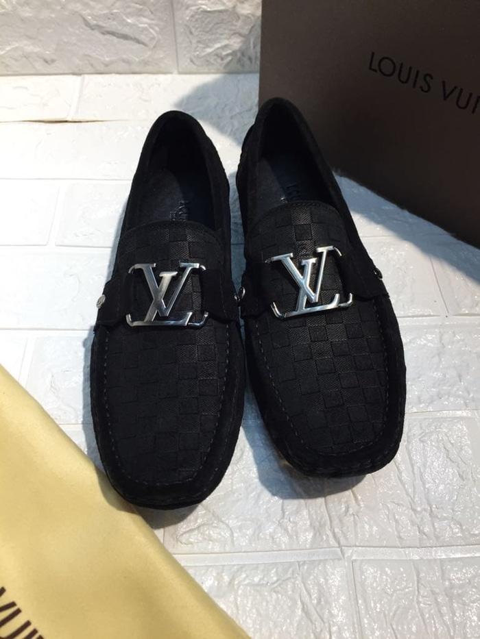 sepatu pria loafers LOUIS VUITTON miror quality