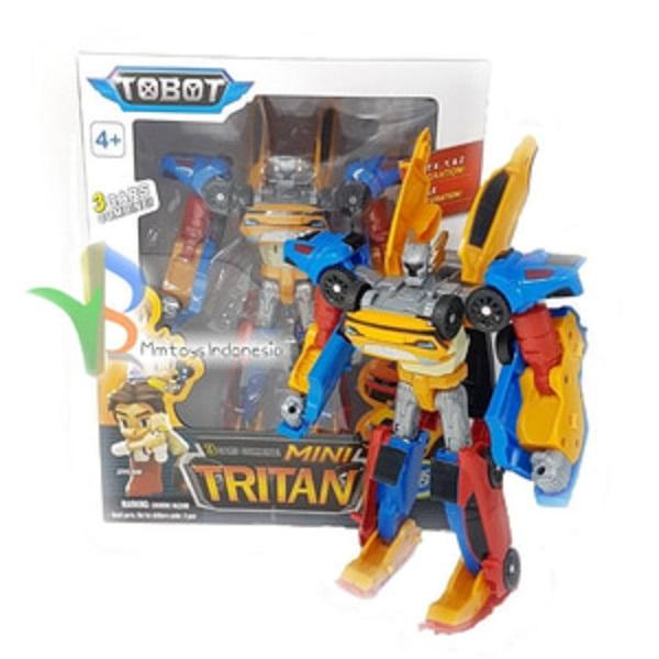[0960070123] Tobot Tritan XYZ 3 Cars Combine