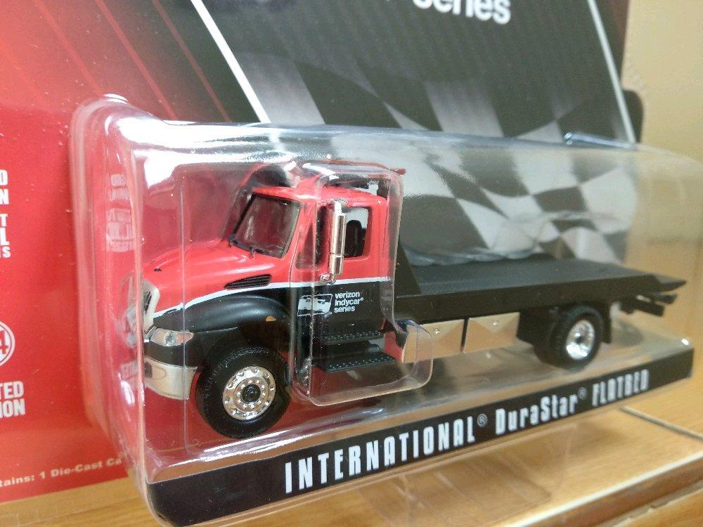 Truck Durastar Flatbed Verizon Indycar Greenlight # Favorit Toys favorit_toys