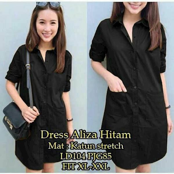 Dress Aliza Ad 3 Warna LD104 Pjg 85 UN