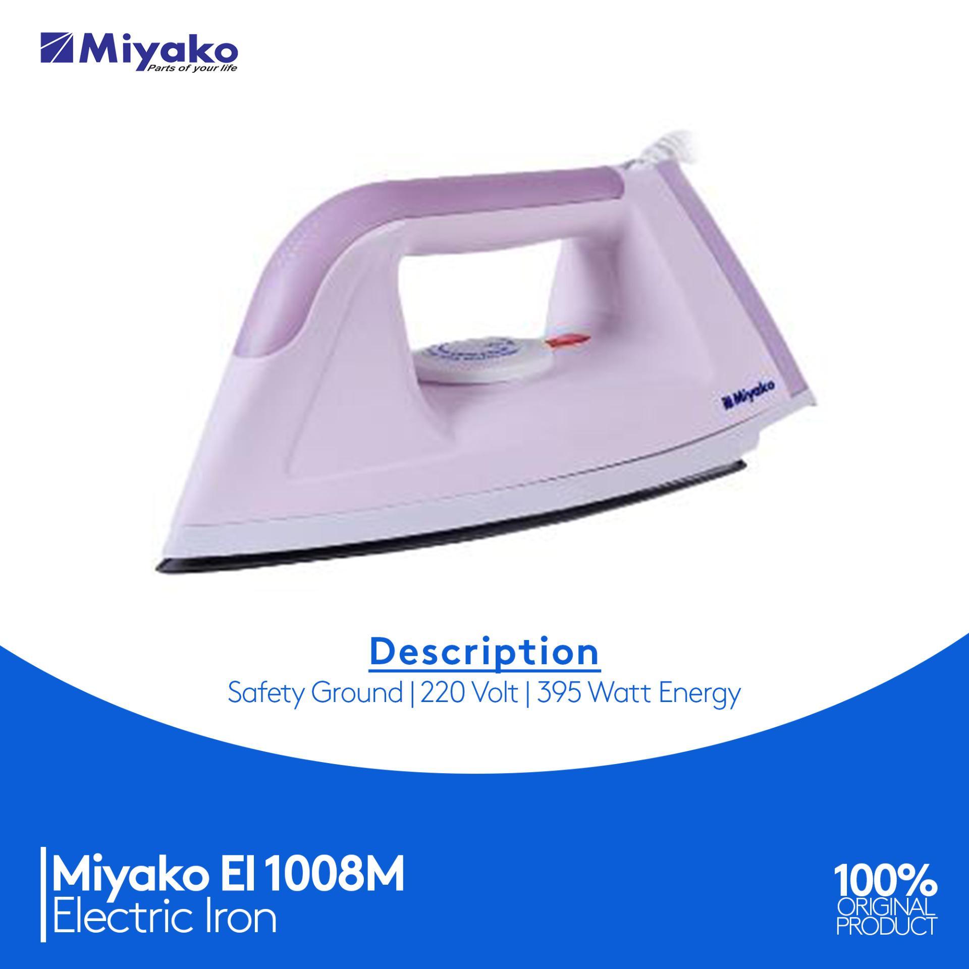 MIYAKO Setrika Listrik EI-1000M - Pink