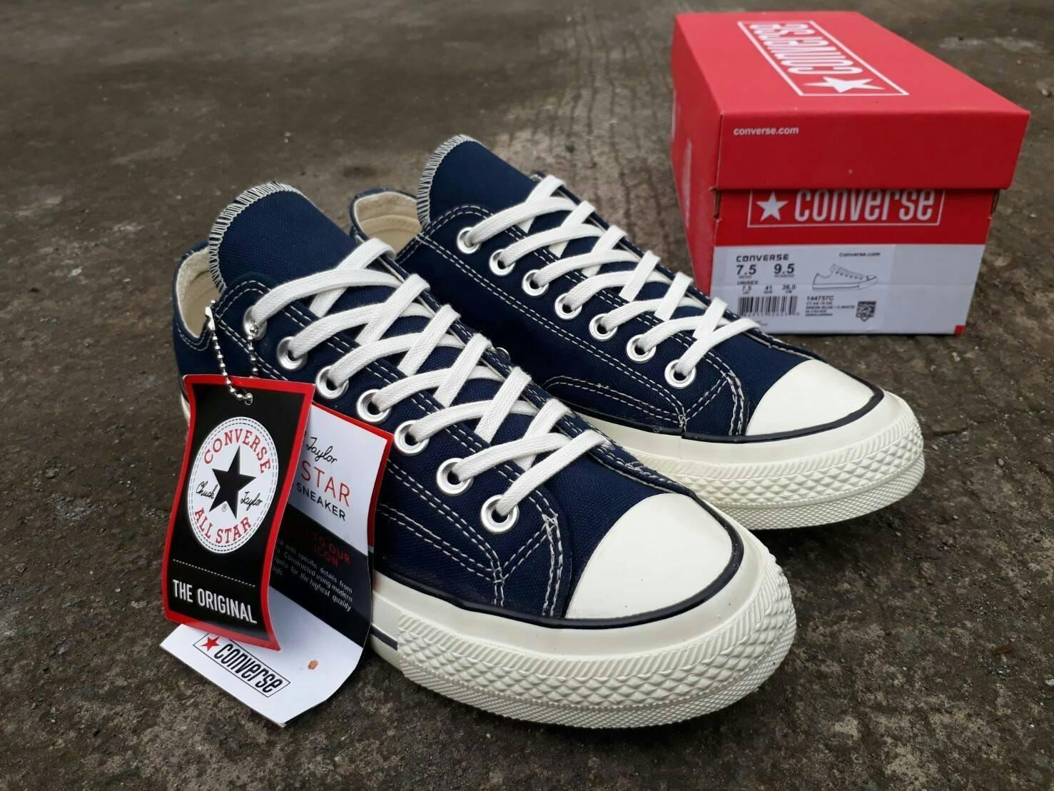 sepatu converse clasic low 70.S drees Blue premium BNIB made in china 1a5a81823a