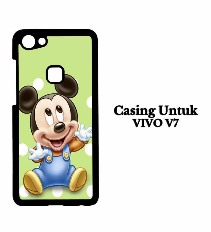Casing VIVO V7 mickey mouse images Hardcase Custom Case Se7enstores