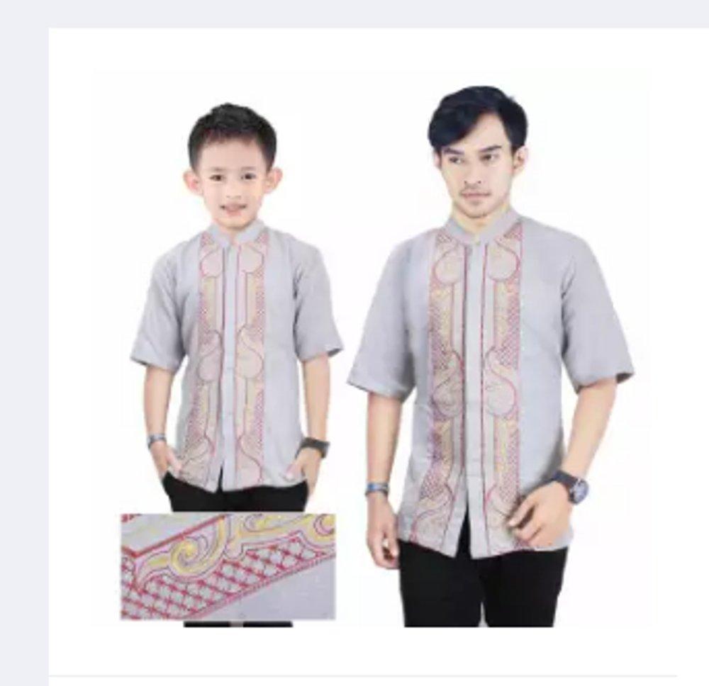 Miracle Baju Koko Muslim couple Ayah dan Anak Ryan Kemeja Atasan Pria di lapak Risky jersy 99 rohmat_sahid