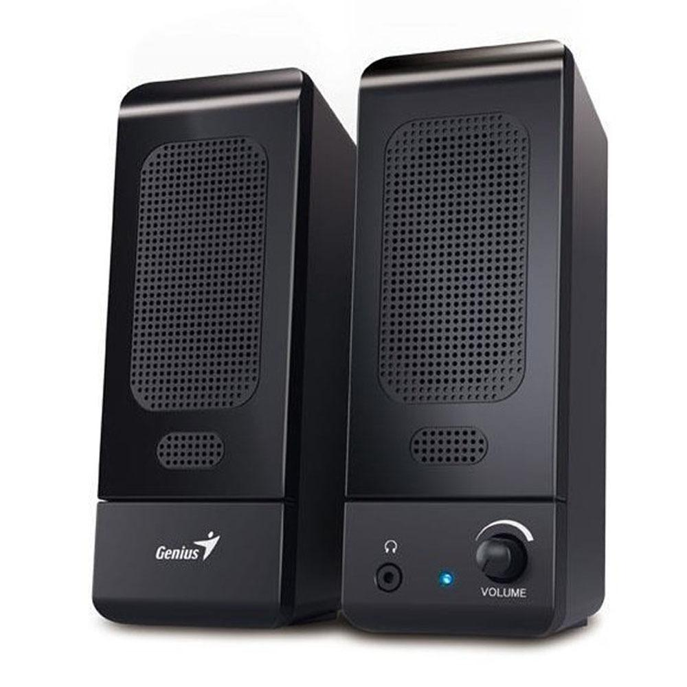 Genius SP-U120 Duo Multimedia Stereo Speaker USB with Volume Control - Hitam
