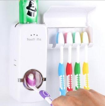 Pencari Harga PROMO PALING DICARI touch Me New Toothpaste Dispenser   Brush  Set Dispenser pasta gigi 657499d60a