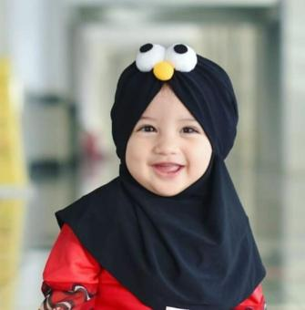 Shock Price Kerudung Hijab Anak Jilbab Bayi Baby Angry Bird Elmo best price - Hanya Rp23