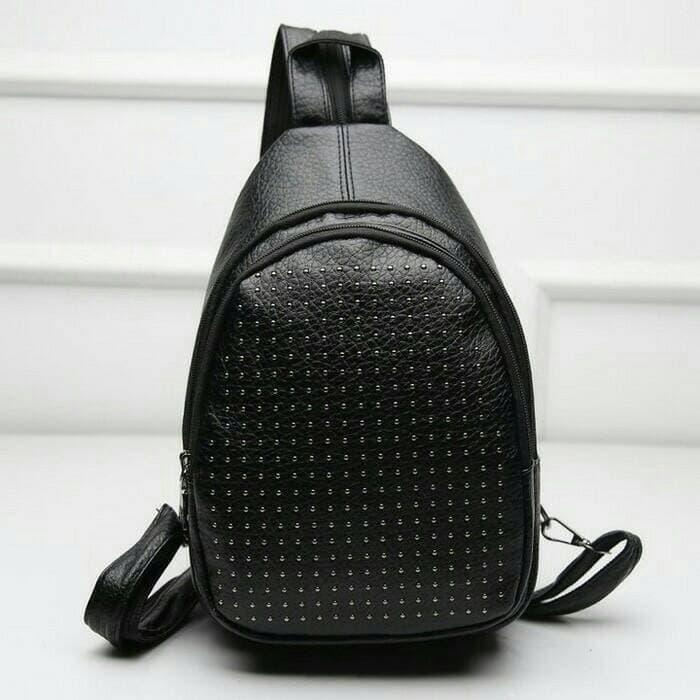 tas ransel backpack import korea batam studded kulit leather studd