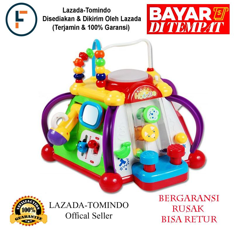 Tomindo Happy Small World Little Joy Box / Mainan Anak / Mainan Musik / Musikal Drum By Tomindo