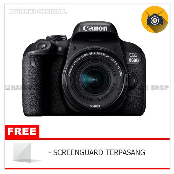 Canon EOS 800D KIT 18-55mm Kamera DSLR [WiFi]