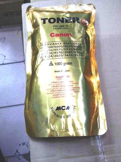 Diskon10% !! REFILL TONER PHOTOCOPY CANON 1000 GR - ready stock