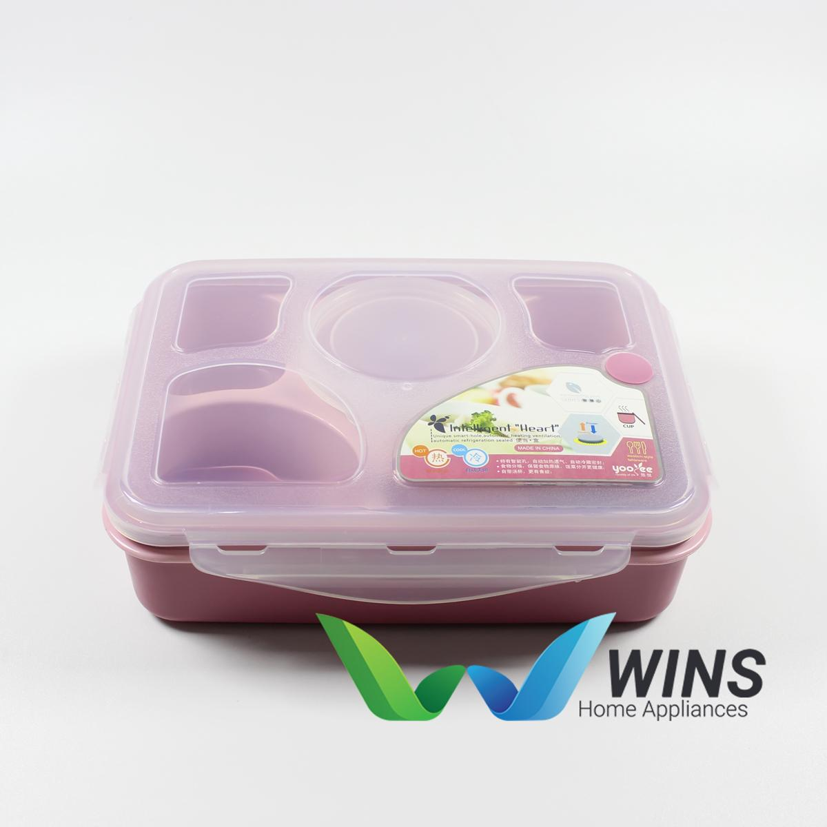 Lunch Box 5 Sekat Yooyee 393 - Kotak Bekal Makan Sup Bento Set