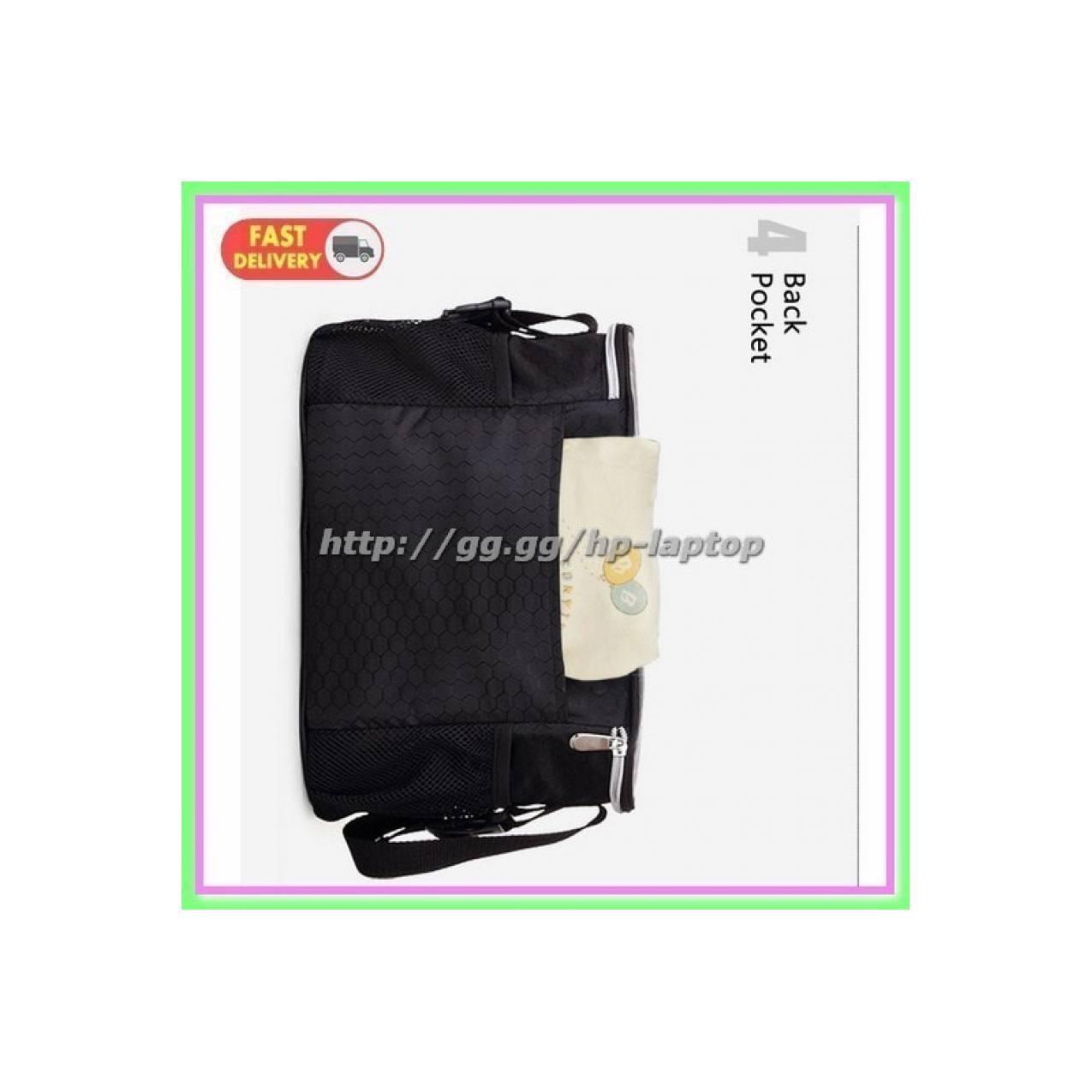 Tas Stroller Kereta Dorong Bayi Multifungsi Black