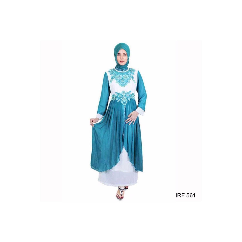 termurah Baju Gamis Glamor Mewah Bahan Sifon