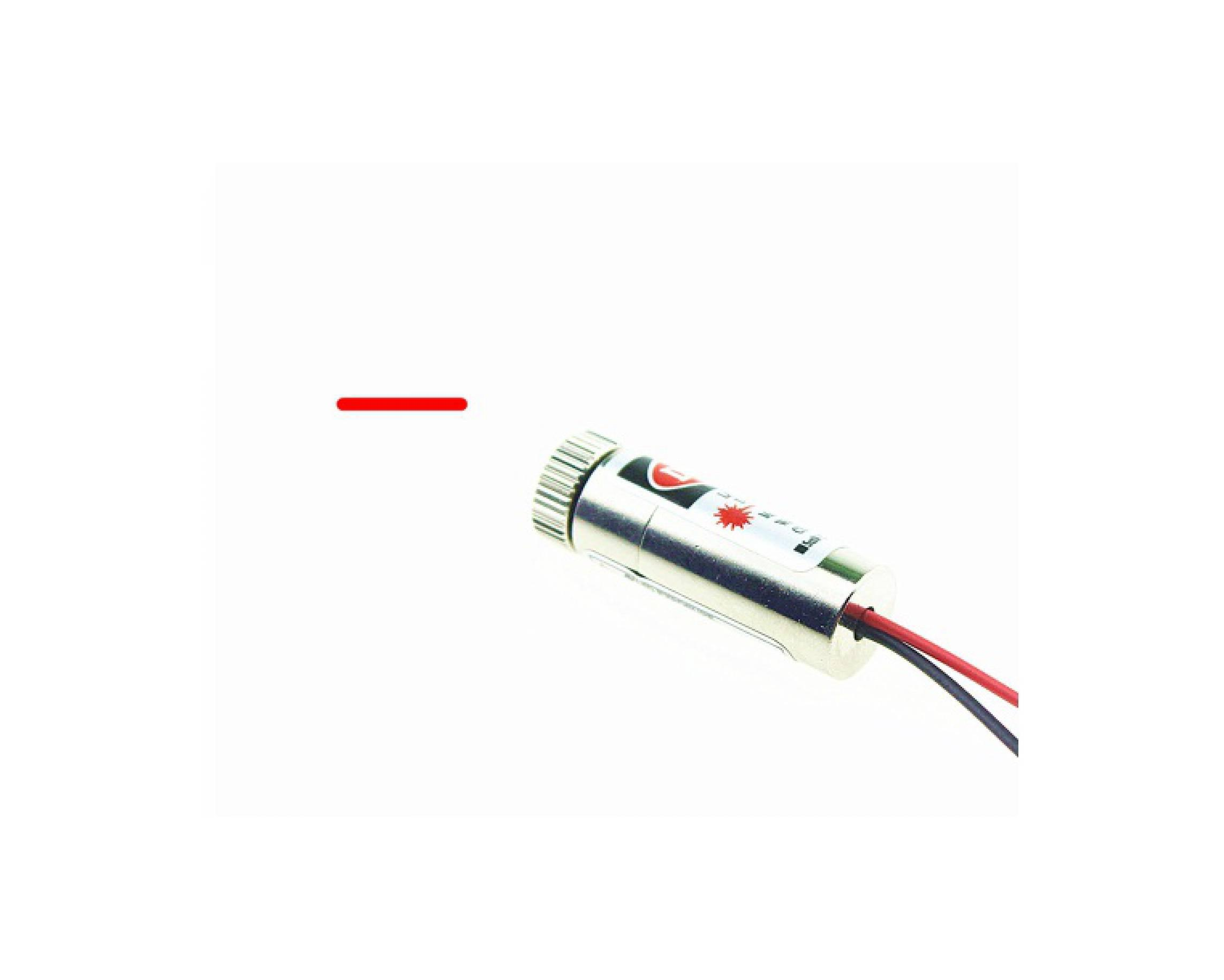 10 Pcs WL Merah 650nm 6mm 3 V 5 MW Mini Laser Dot Diode Modul KepalaIDR93000