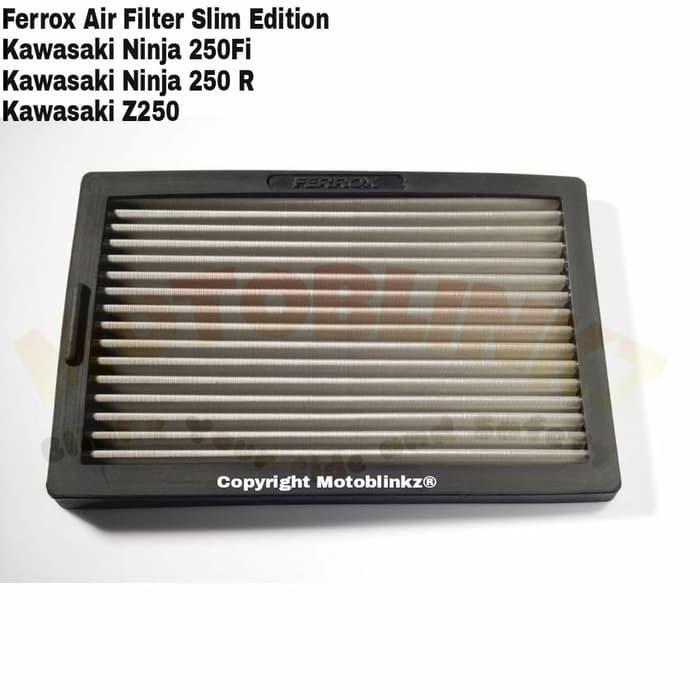 PROMO Ferrox Filter Udara Kawasaki Ninja 250 Fi / Ninja 250R / Z250 Slim Ed TERBARU
