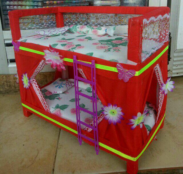 rumah barbie berbahan kayu 45x35x20 cm a29e50b5c6