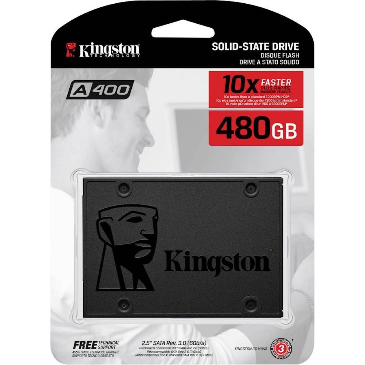 Kingston A400 480GB SSD - SSD A400