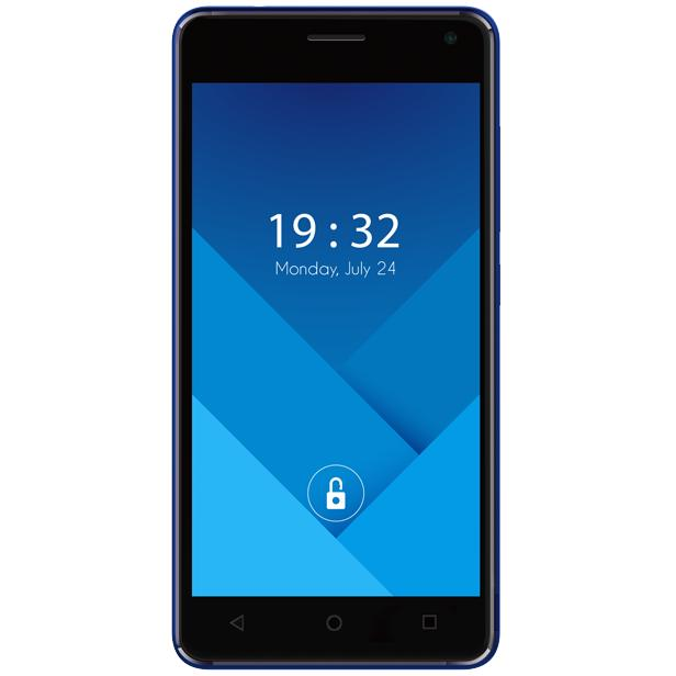 Advan Vandroid i5C Duo 2/16GB Fingerprint - Biru