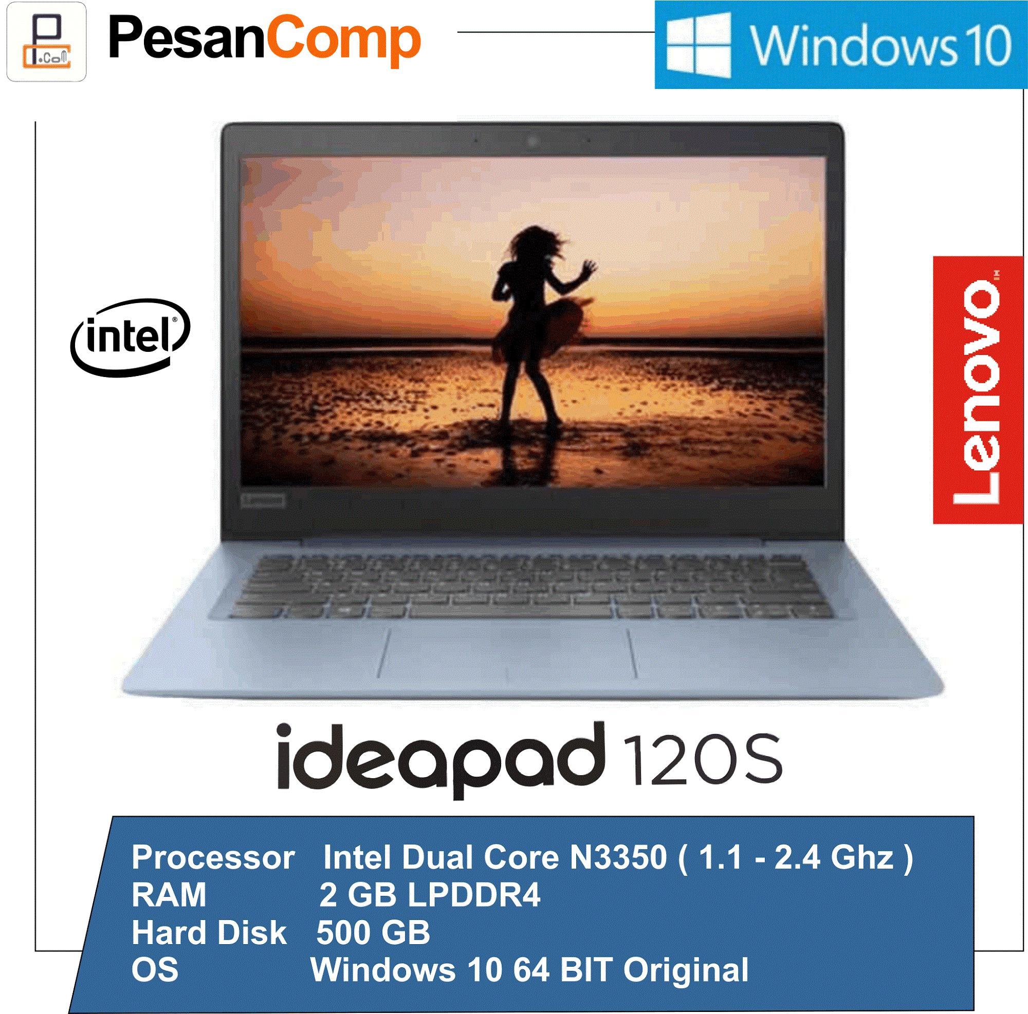Lenovo IdeaPad 120s-11IAP Intel N3350 / WINDOWS 10 / RAM 2GB / HDD 500GB / Intel HD Graphics