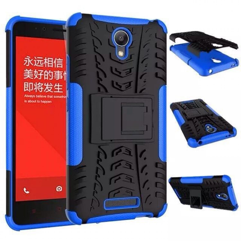 TPU + PC Anti Knock Hard Armor Style Protector Case Cover For Xiaomi Casing HP Murah Terbaru