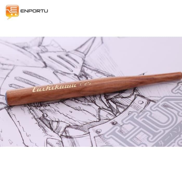 Terlaris Tachikawa Pen Holder Wood - Zuzyqutb By Alrescha Collections.