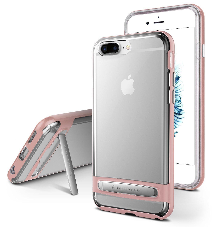 Mercury Dream Bumper Hybrid Case for iPhone 8 Plus - Rose Gold