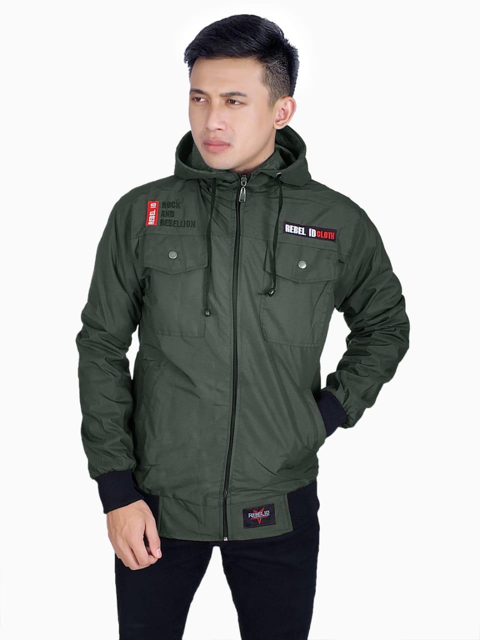 Jaket Parka Taslan Waterproof - Oenzie Store 262db4761b
