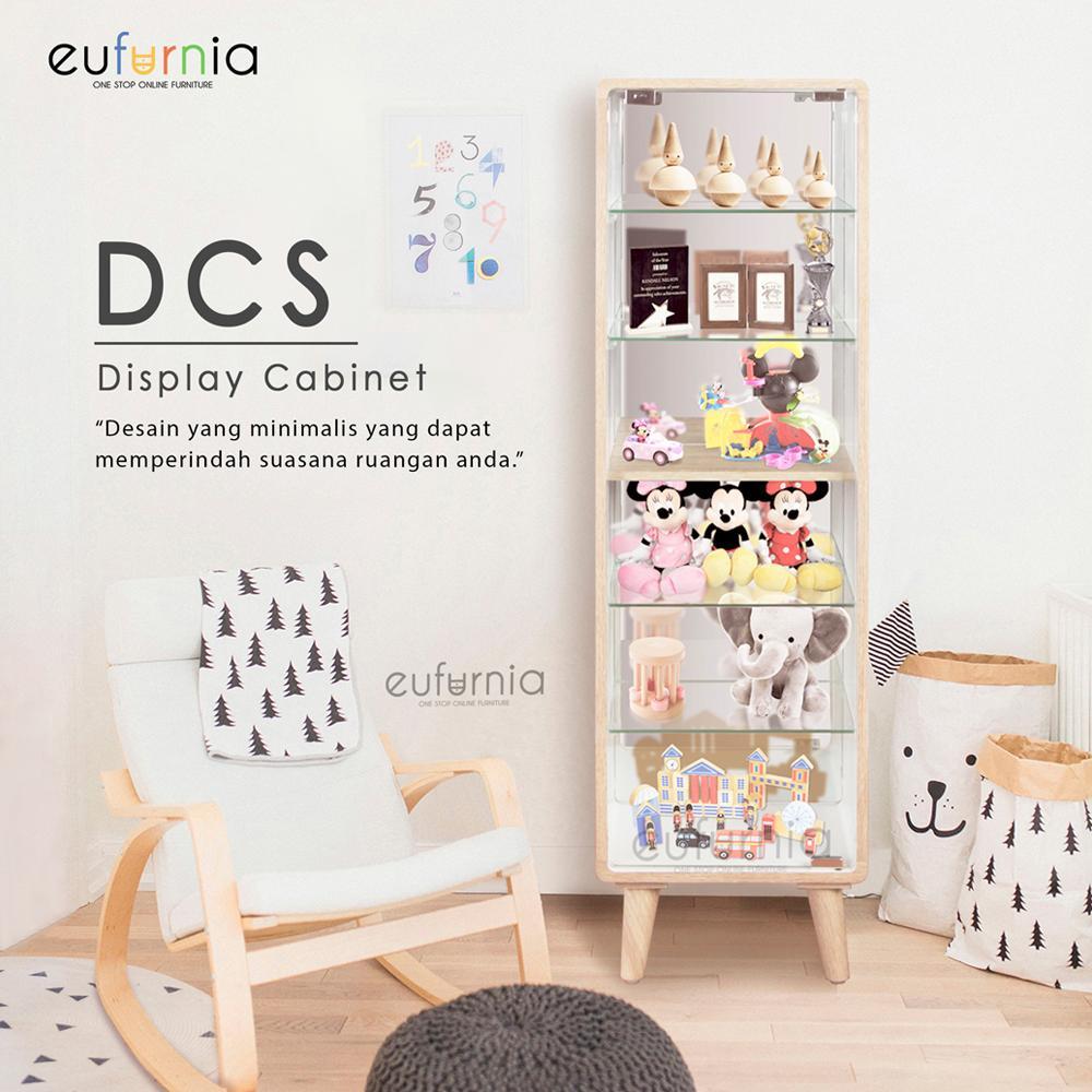 Rak Pajangan Kecil Eufurnia Olympic Curla Series Display Cabinet Small -  DCS   100% FREE 848e71fc7b