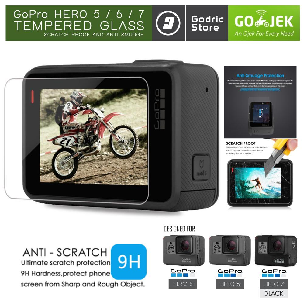 Aksesoris Gopro Terlengkap Murah Brica Bpro B Pro 5 Alpha Plus Hitam Hero 6 7 Black Lcd Tempered Glass Screen Protector Anti