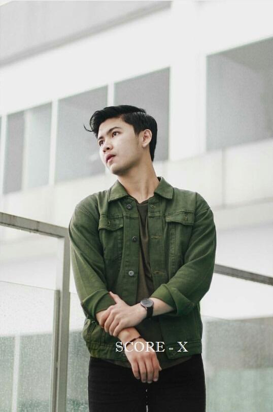 Jaket Jeans Pria / Jaket Dilan / Jaket Denim Premium - Green Army