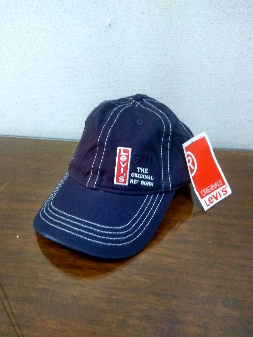 Topi Levis Import - Blue01 di lapak Topi KanBaru topikanbaru