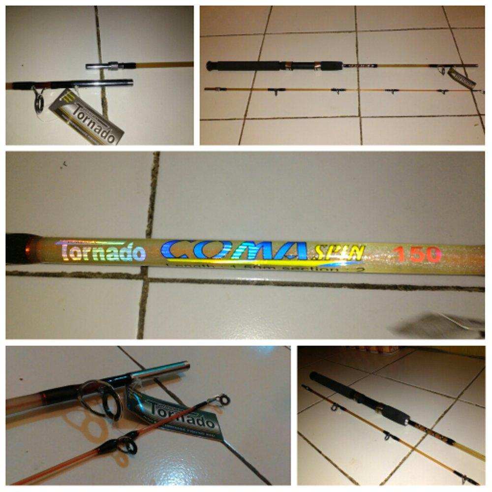 Joran TORNADO COMA Spin 150 cm (Full Fiber Power Full) # Fishing Erik fishingerik
