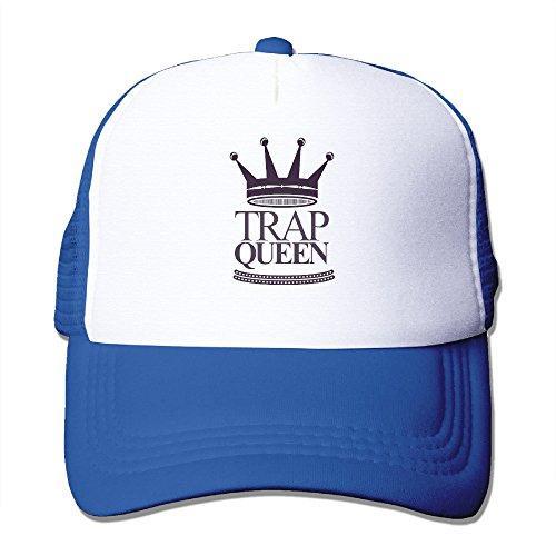 Fetty Wap Trap Queen Hip-Hop Song Adjustable Adult Printed Trucker Hats