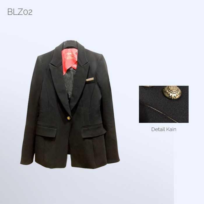 Best Seller!!! BLZ02 - Women Blazer - Blazer - Jas Wanita Keren Terbaru Murah