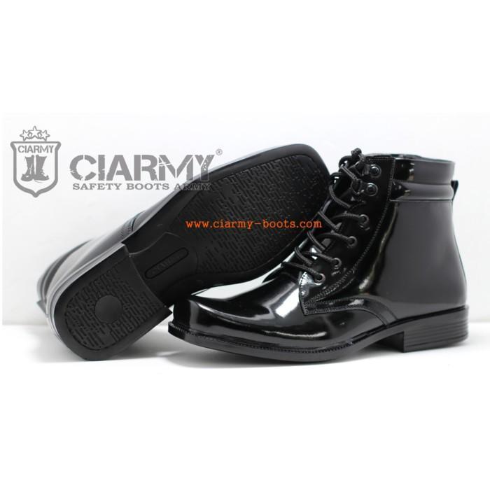 Promo Sepatu PDH Asli Kulit Merk Ciarmy Type C-013 Gratis Ongkir