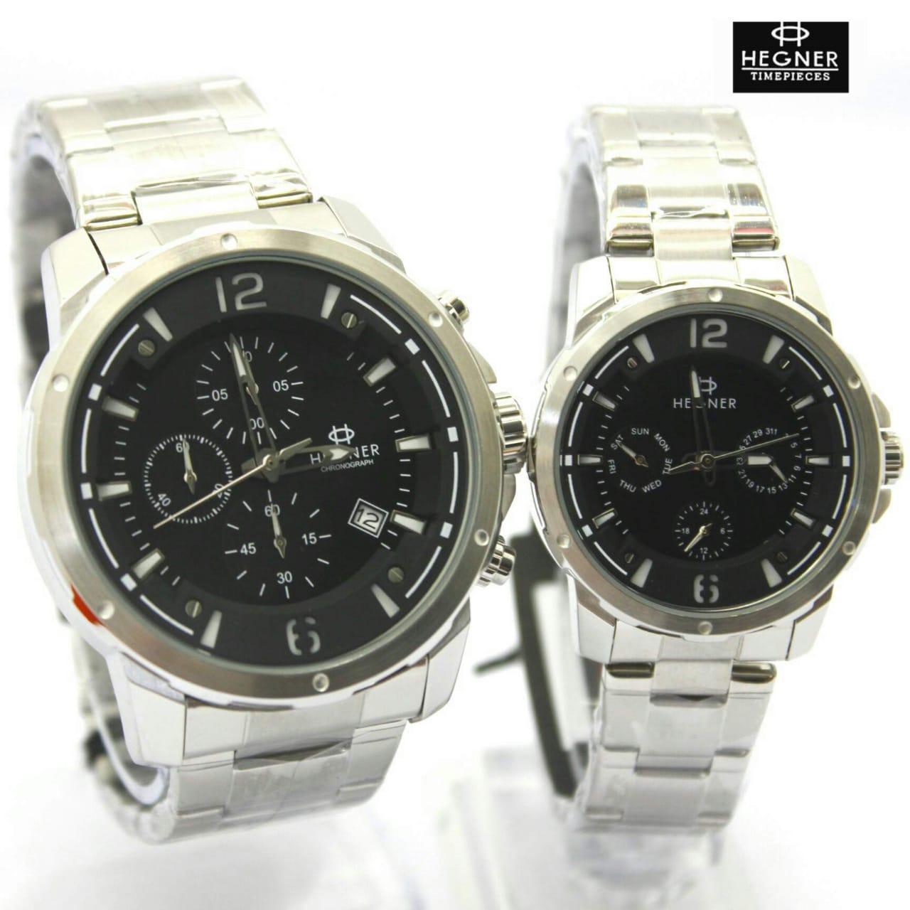 Jam tangan original couple hegner HW5035 - 4 pilihan warna - hargajam harga jam sepasang cowok cewek ori anti air water resist proof